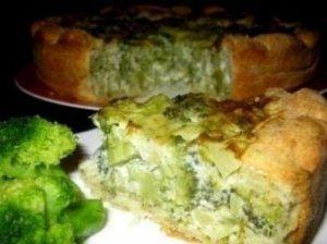 Pyragas su brokoliais