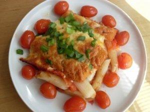 Žuvų pirštelių apkepas su daržovėmis