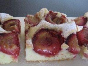 Vokiškas pyragas su slyvomis