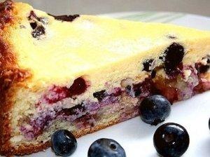 Pyragas su varške ir mėlynėmis