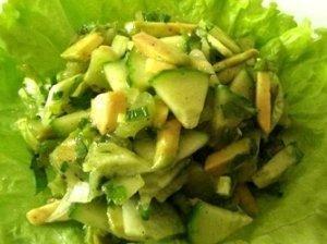 Gaiviosios avokado salotos