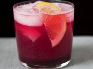 Gaivus vynuogių ir citrinų gėrimas