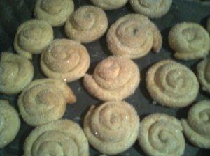 Sausainiai sraigė su varške