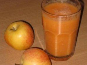 Morkų ir obuolių sultys