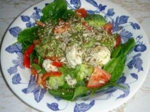 Irenos daržovių salotos