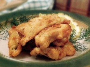 Tešloje kepta žuvies filė