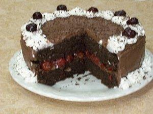 Juodasis miško tortas