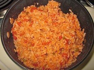 Paprasti ispaniški ryžiai
