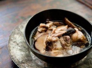 Vištienos sriuba su grybais