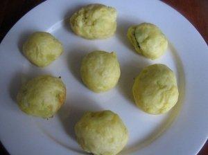 Įdaryti bulvių rutuliukai