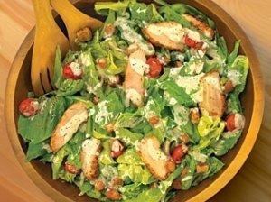 Marinuotos vištienos salotos