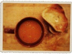 Morkų ir imbiero sriuba
