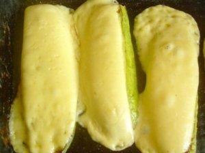 Kepta cukinija su sūriu