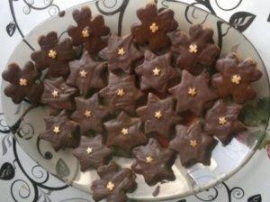 Ruginių ir kvietinių miltų sausainėliai
