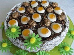 Kukurūzinis tortas su saldainiukais