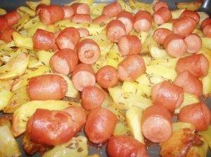 Bulvės su dešrelėmis