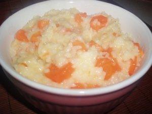 Morkos troškintos su ryžiais