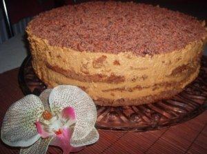 Karamelinis tortas Rududu