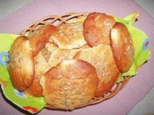 Sausainiai su varške ir saulėgrąžomis