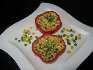 Varške ir daržovėmis įdarytos paprikos