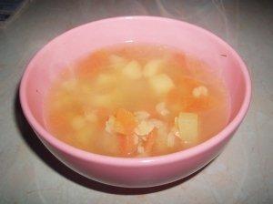 Skaldytų žirnių sriuba