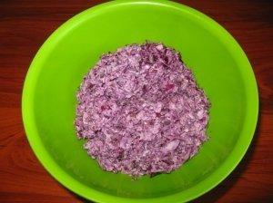 Violetinės salotos