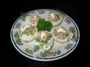 Silke įdaryti kiaušiniai