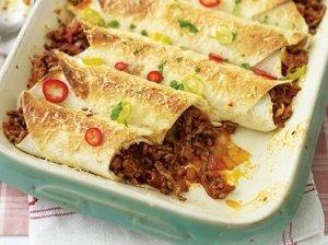 Vištienos Enchiladas su Mole padažu