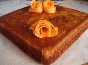 Morkų ir varškės pyragas