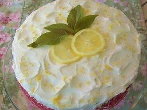 Citrninis biskvitinis tortas