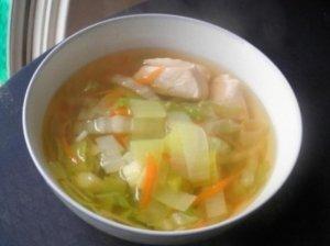 Kopūstų ir vištienos sriuba
