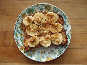Sumuštinis su bananais