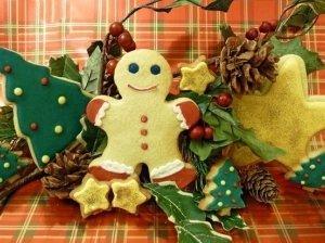 Imbieriniai sausainiai Kalėdoms