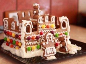 Stebuklinga Kalėdų Senelio pilis