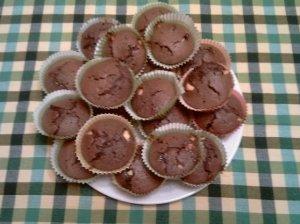 Šokoladiniai keksiukai♥