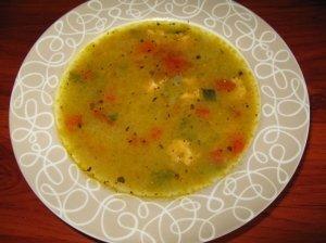 Daržovių - lašišos sriuba Kūčioms