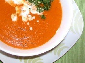Morkų ir ryžių sriuba