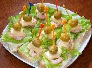 Krevečių sumuštiniai