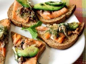 Žuvies sumuštinukai