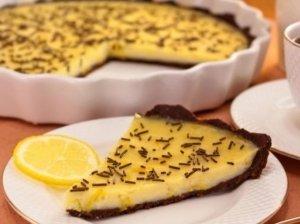 Šokoladinė citrinų tarta