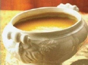 Morkų ir apelsinų sriuba