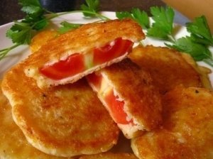 Pomidorų kepsneliai