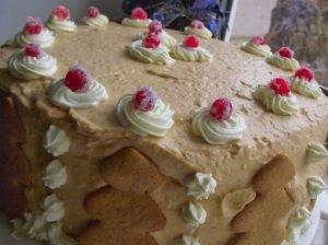 Dieviškas karamelinis maskarponės sūrio tortas su vyšniomis