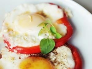 Kiaušiniai su paprika