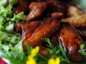 Kiniški vištienos sparneliai