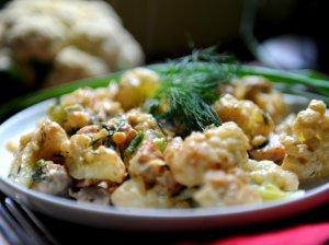 Kalafiorai su mėsyte