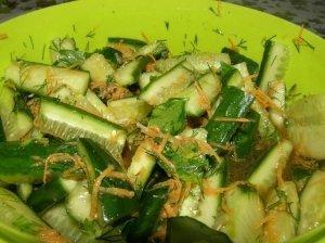 Sveikuolių salotos (marinuotos)