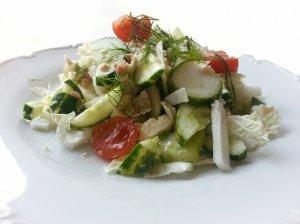 Gaivios salotos su tunu ir avokadais