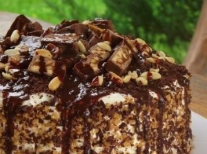 Tortas ''Snickers''