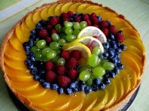 Vaisinis maskarponės tortas ,,Vasaros šėlsmas''